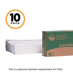 Aprilaire # 501 pleated media filter; 10-Pack
