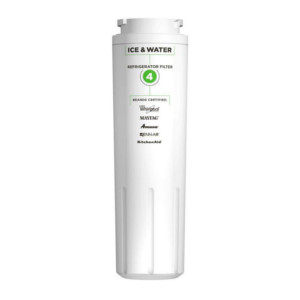 Genuine Whirlpool EveryDrop EDR4RXD1 (Filter 4) UKF8001, UKF8001AXX, and 4396395, Kenmore 46-9992Refrigerator Water Filter