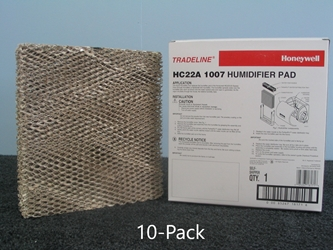 Honeywell HC22A1007 Humidifier Pad; 10-Pack