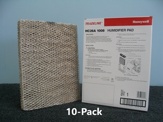 Honeywell HC26A1008 Humidifier Filter; 10-Pack