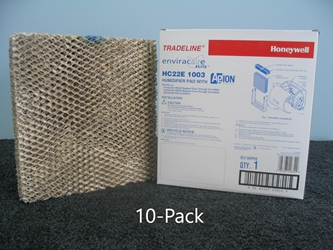 Honeywell Humidifier Filter # HC22E1003; 10-Pack