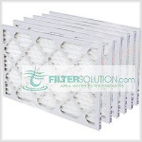 30x30x2 Pleated Air Filter, Actual Size